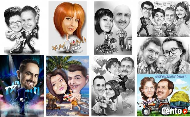 plakaty rysunki karykatury