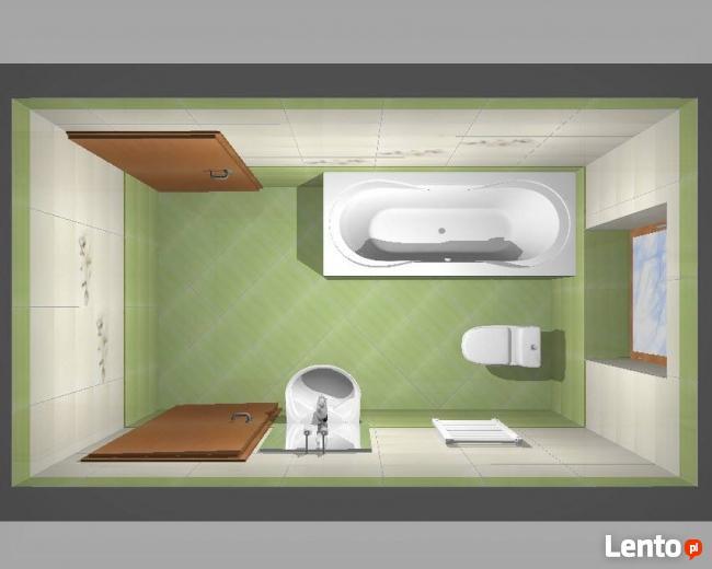3d Projekt Wizualizacji łazienki Warszawa
