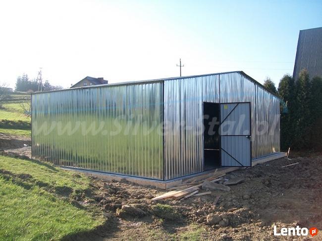 Garaż blaszany 3x4 ocynkowany garaże domek na działkę