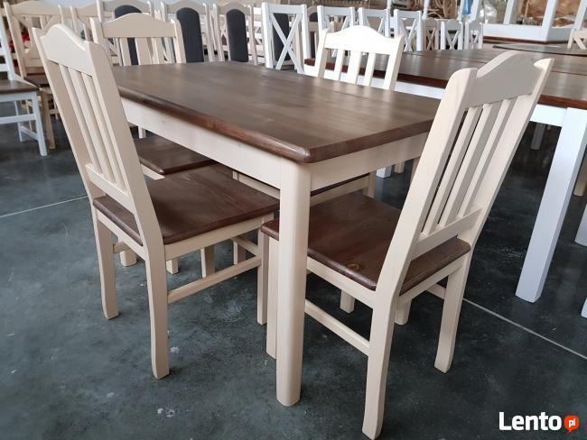 Krzesło P twarde prowansalskie do baru kuchni jadalni Nowe