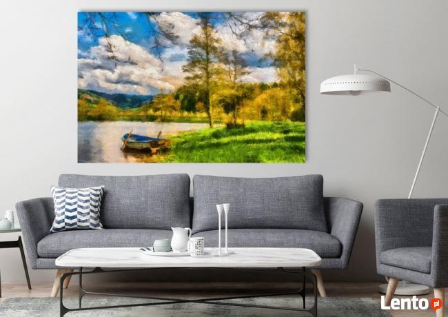 PEJZAŻ 2 obraz na w 100% bawełnianym płótnie 120x80cm