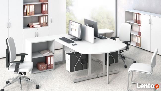 Białe meble biurowe Sove w 7 dni _biurka_szafy_lady