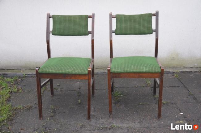 2 Krzesła Typ 200-242, Krzesło PRL, Meble PRL, Fotele PRL