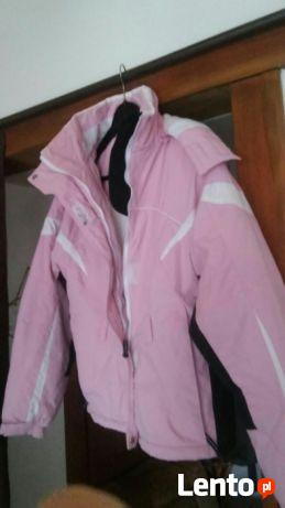 Różowa jak NOWA markowa kurtka na narty L
