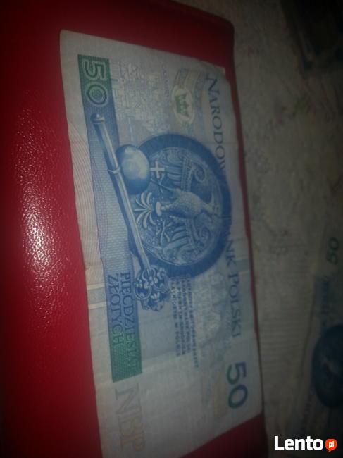 Banknoty kolekcjonerskie 50zl