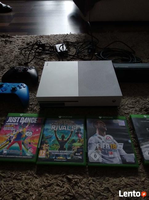 Xbox ones 500gb bialy