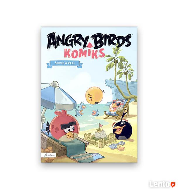 Świnie w raju komiks seria angry Birds, komiks Angry Birds
