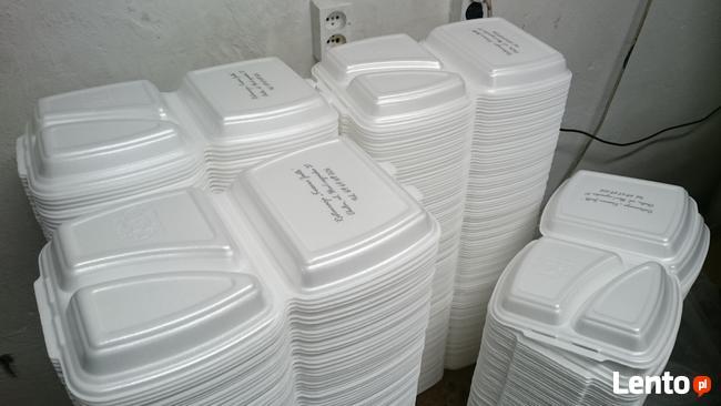 Widelec jednorazowy biały 100 sztuk - opakowanie