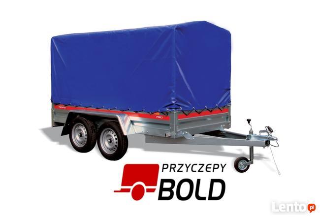 PRZYCZEPY BOLD / Wzmocniona o wym. 2.6x1.2m, DMC:300~750kg