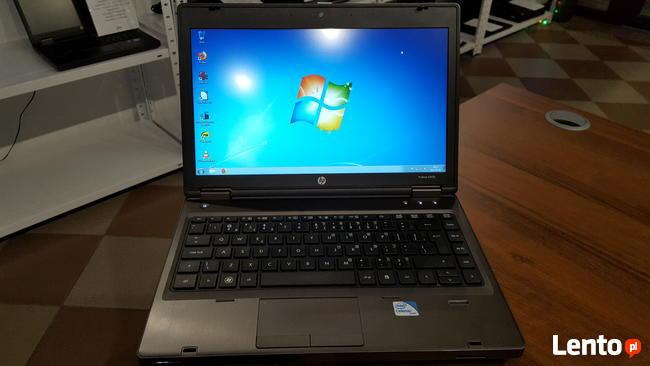 Laptop Poleasingowy 13.3 HP 6360b Intel 4GB RAM Win7 GW FV