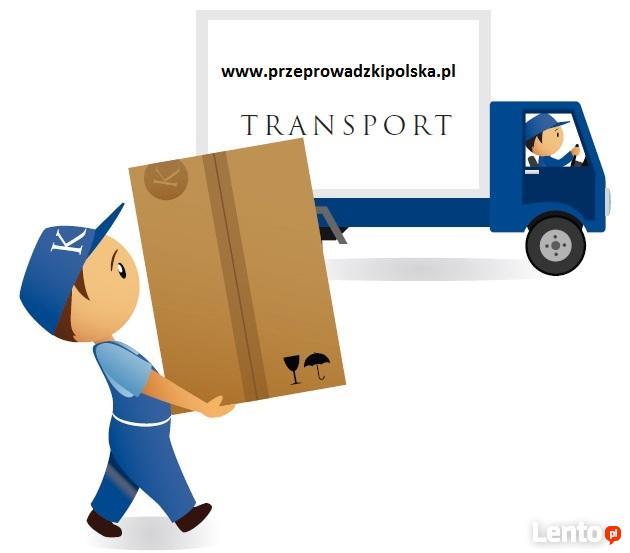 Przeprowadzki biur, firm, mieszkań , tani transport mebli