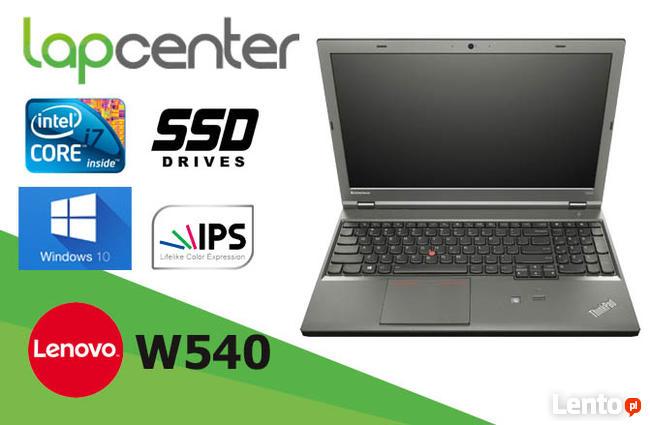 Lenovo Thinkpad W540 i7Q-4GEN 32GB RAM 512GB SSD W10P LapCen
