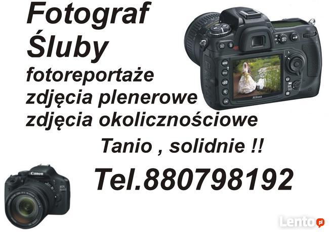 Fotograf -Śluby