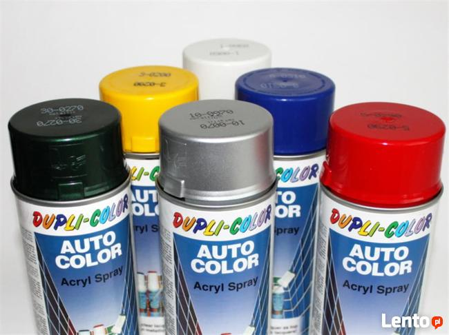 Dupli-color farba auto lakier spray do graffiti tanio