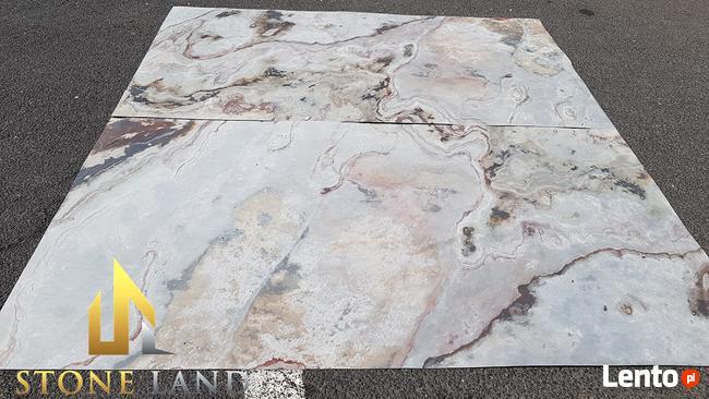 Fornir kamienny S.White jasny szary 61x122 oraz 122x244cm