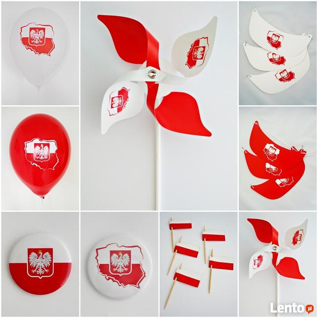 Cudowna Szarfa dla pocztu sztandarowego - szarfa biało-czerwona Sosnowiec EF14