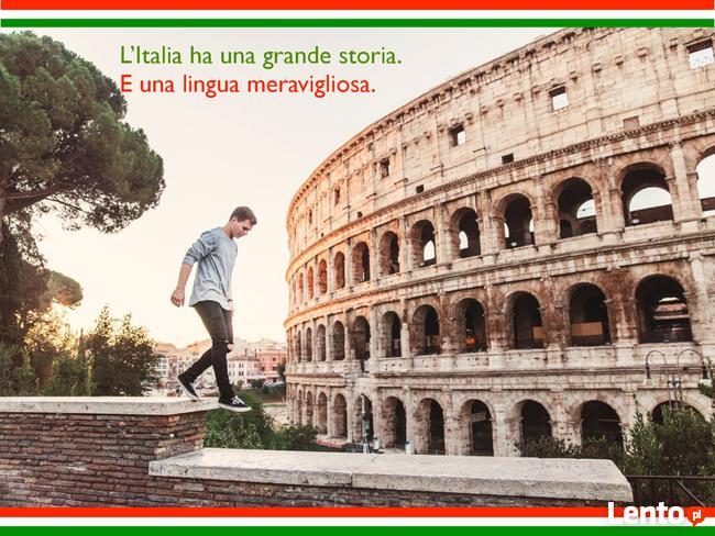 Kurs włoskiego w grupach z native speakerem