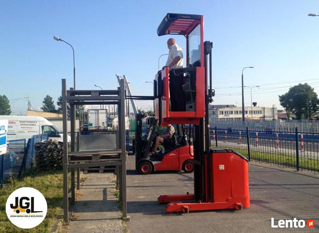 Kurs na wózki wysokiego składowania – Łęczyca, Łódź. UDT
