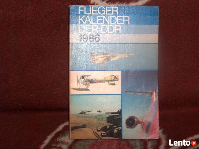 Książka Flieger Kalender DER DRR 1986 Stan BDB