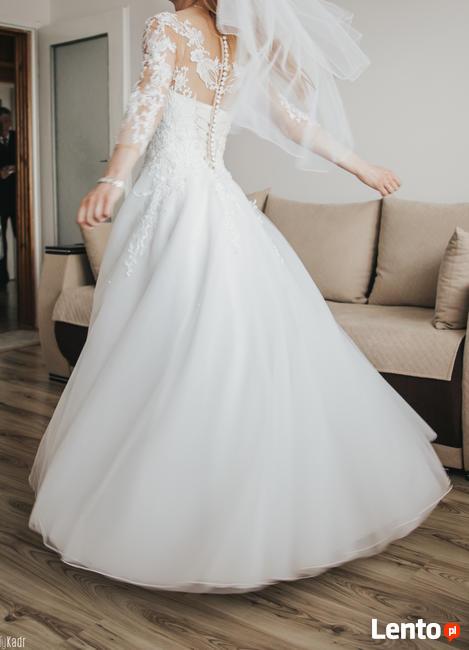 Suknia ślubna, rozmiar S/ XS