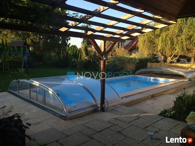 Zadaszenie BASENOWE SMART 1090x420x90 basenstudio.pl