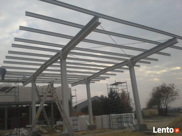 Konstrukcje metalowe i wiaty/altany zadaszenia świetliki