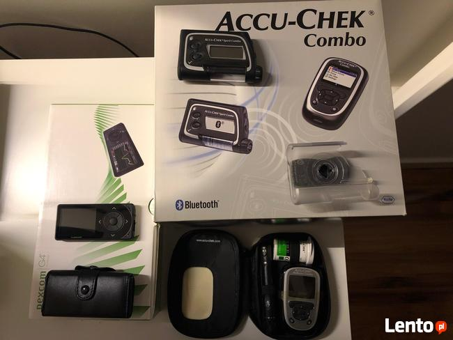 Zestaw Accu-Chek Combo + zestaw Dexcom G4 Platinum