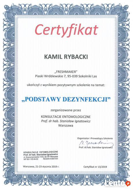 Wytępianie Pluskiew - Poziom Wyższy - Gwarancja 365 DNI