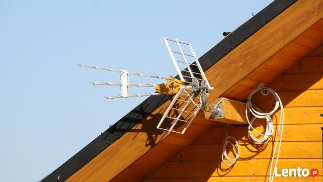 Międzyrzecz, montaż anten satelitarnych Polsat, NC+ DVB-t