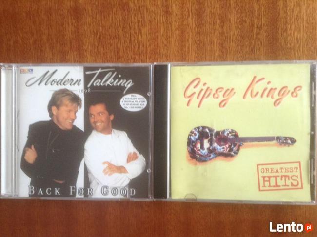 Płyty CD- , GIPSY KINGS, MODERN TALKING i inni wykonawcy..