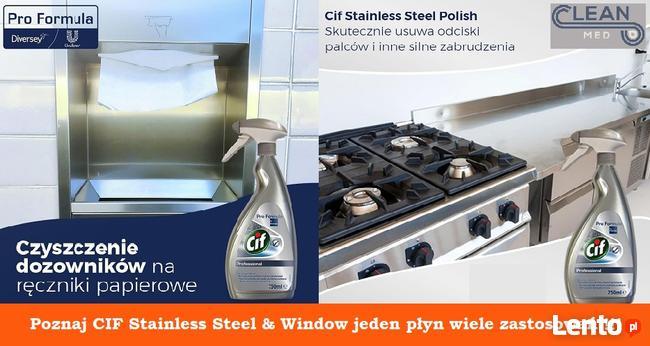 Cif PF Stainless Steel - Płyn do mycia stali nierdzewnej
