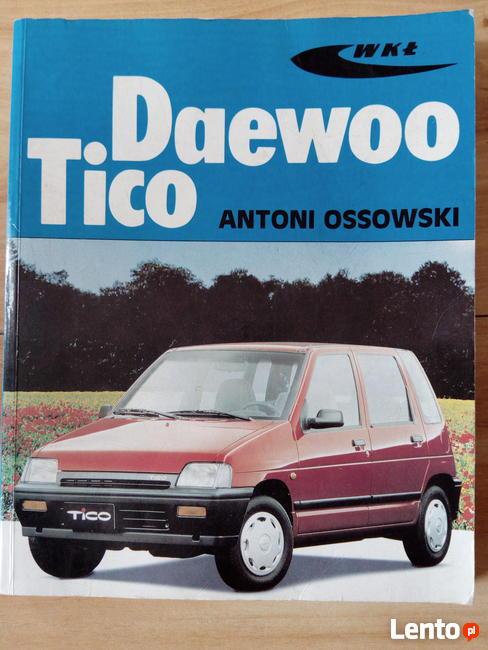 Książka napraw Deawoo Tico