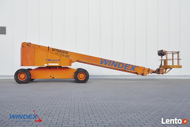 Podnośnik teleskopowy Terex TB 100 - Windex