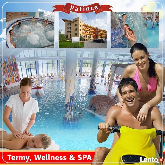Dobroczynny relaks w oazie termalnych wód z masażami Patince