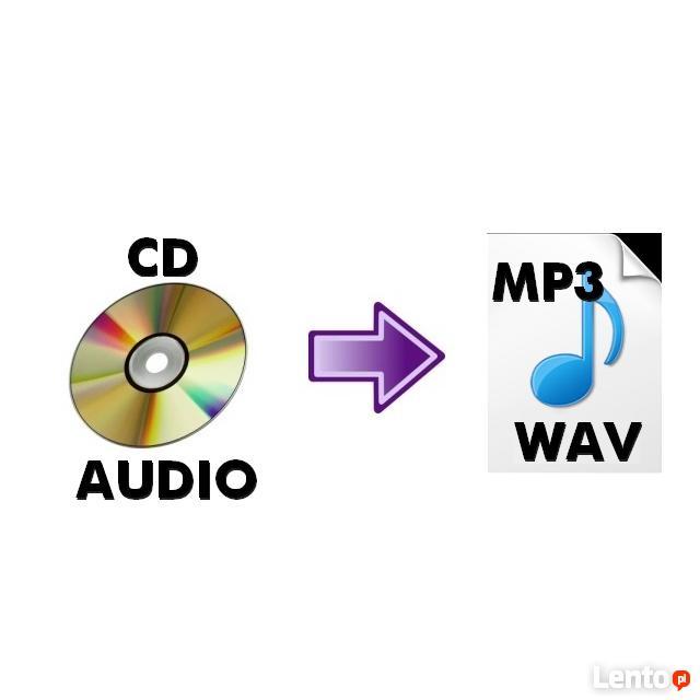 Zgrywanie kopiowanie płyt audio CD do plików MP3 na pendriva