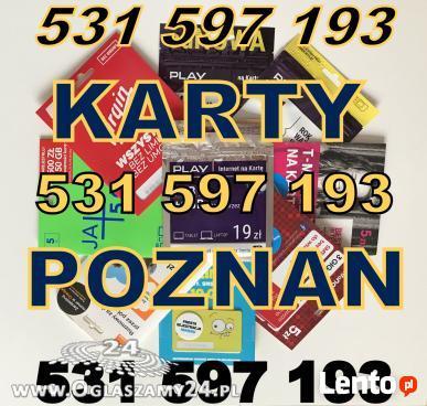 ZAREJESTROWANA KARTA SIM PLAY POZNAN Zarejestrowane karty Or
