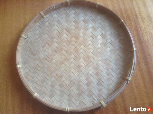 Nowa taca - sito bambusowe do gotowania na parze .
