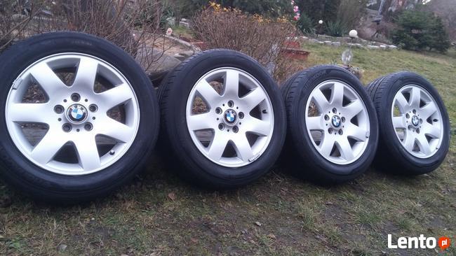 Felgi Aluminiowe BMW 205/55/R16 HANKOOK 7mm 5x120 Chevrolet