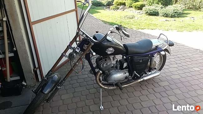 sprzedam motocykl iż 350