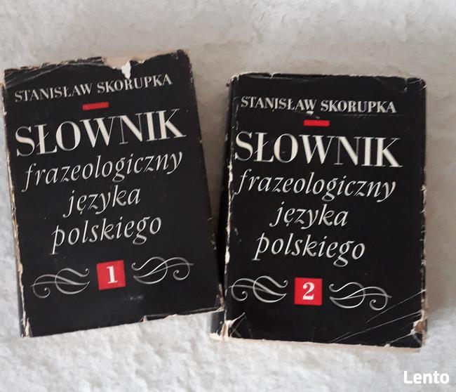 Słownik Frazeologiczny Języka Polskiego.