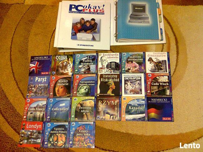 PC kurs szkolenie komputery i multimedia , płyty CD-ROM