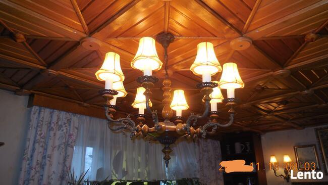Lampa wisząca/żyrandol 8-ramienny - sprzedam