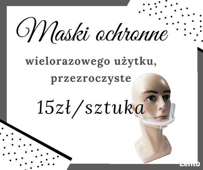 Promocja Maska ochronna, przyłbica, półprzyłbica