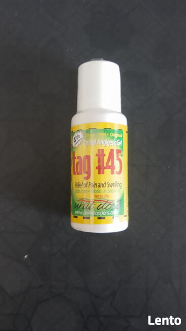 Kosmetyk przeciwbólowy Tag 45