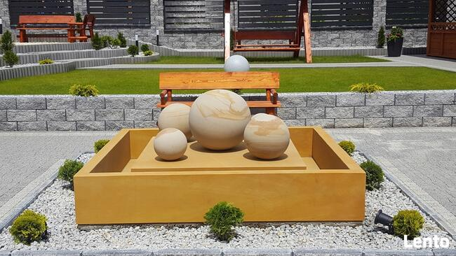 Nowoczesna fontanna z piaskowca + gratis !!!