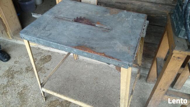 Piła stołowa tarczowa Scheppach do drewna