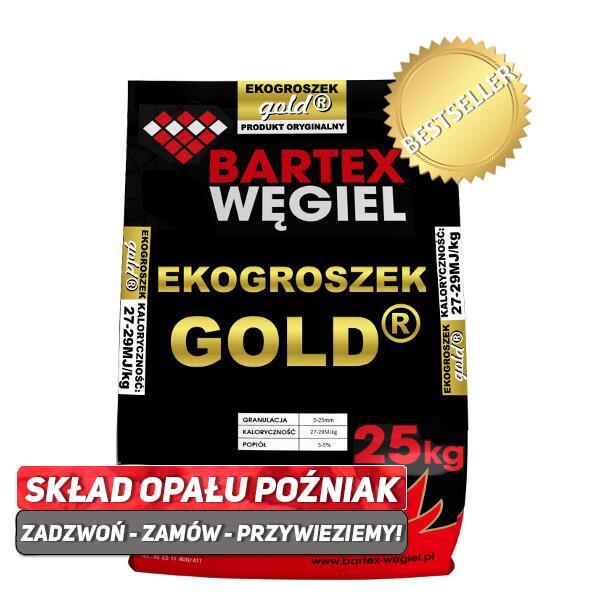 Bartex Ekogroszek GOLD Kamienny Węgiel Wysokokaloryczny