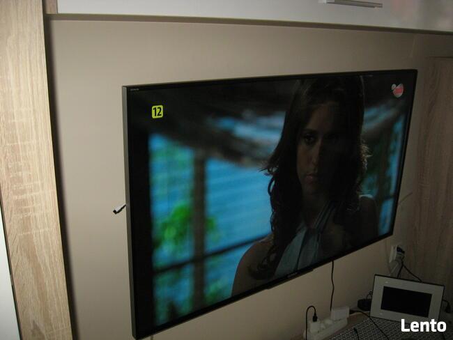 telewizor sony bravia kd-49x8505b wypasiony 3D 4K kamerka