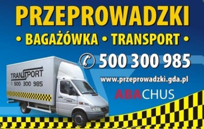 Taxi Bagażowe 500 600 960 Gdańsk, Sopot