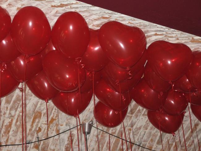 balony z helem, balonowe dekoracje Kraków